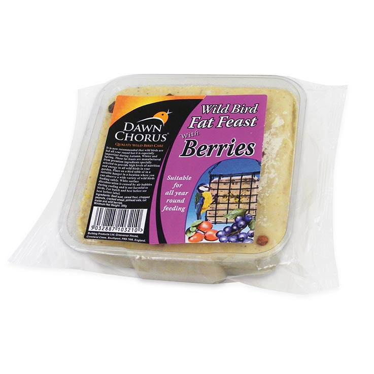 Wildbird fat feast berry 300g - 10321