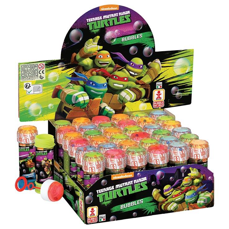 Bubbles 60ml mutant ninja turtles  (in display box)