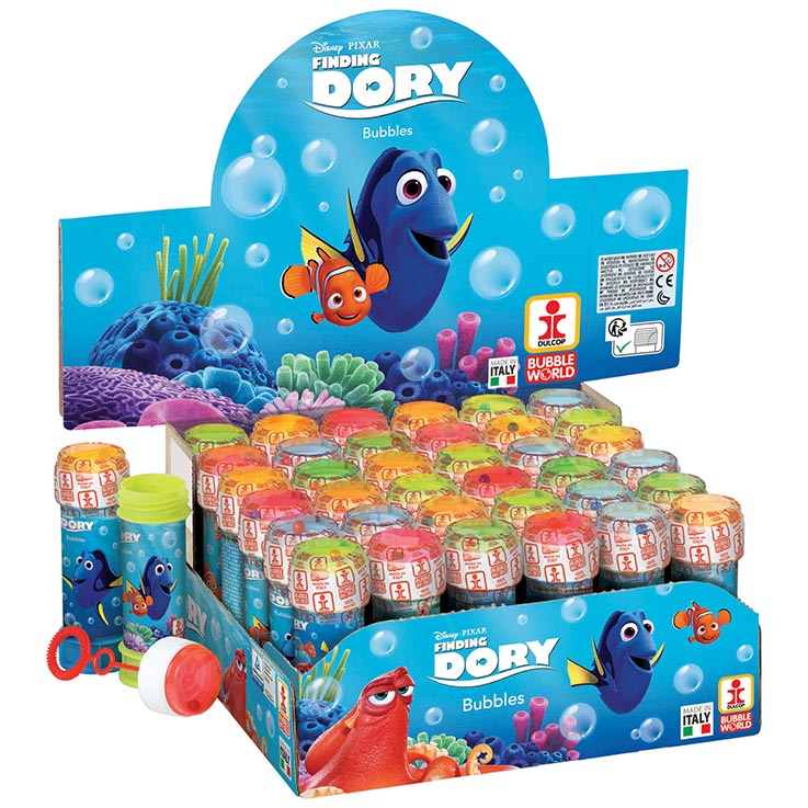 Bubbles 60ml finding dory (in display box)