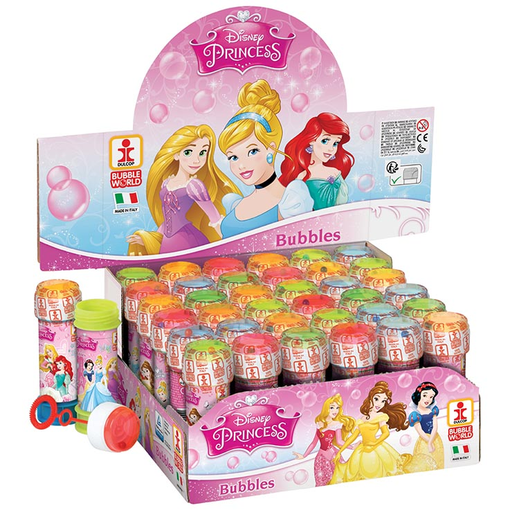Bubbles 60ml disney princess (in display box)