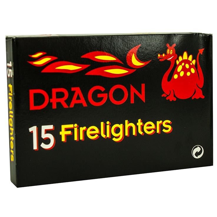 Dragon firelighters 15's