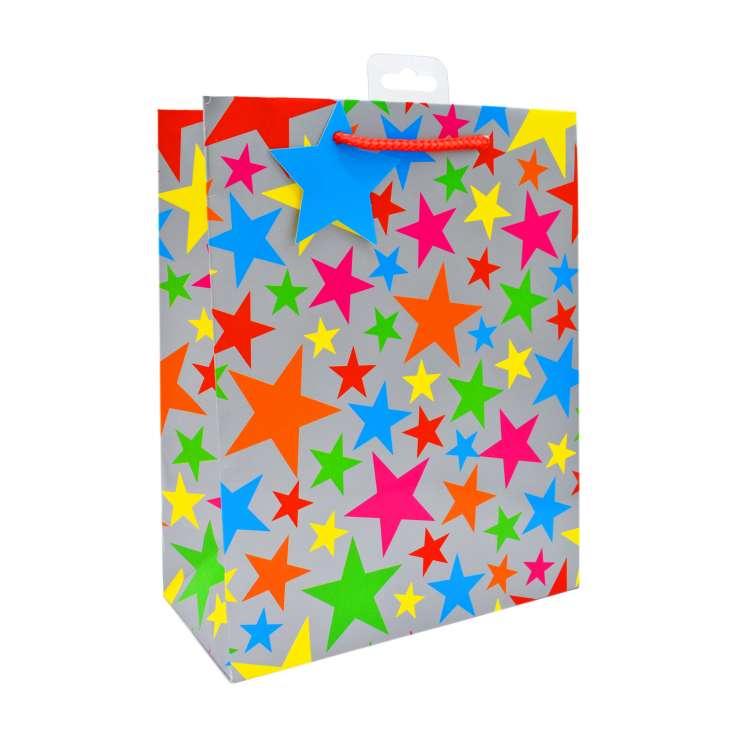 Medium Gift Bags - Stars (21cm x 26cm)