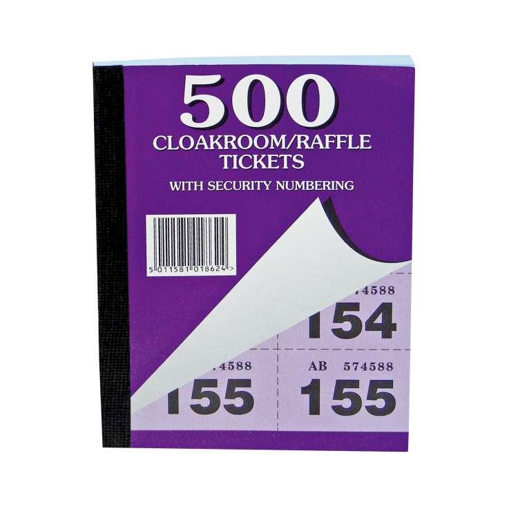 Raffle Tickets 1-500