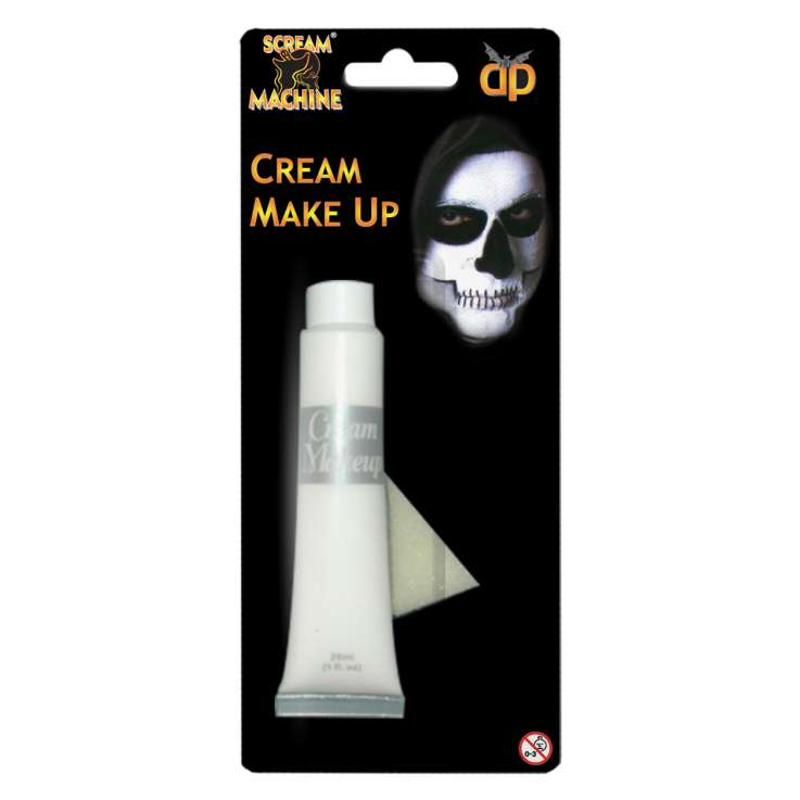 Scream Machine Cream Make Up 28ml - White