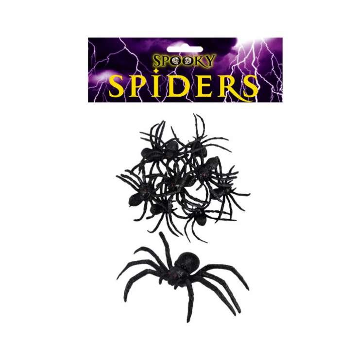 Black Spiders 8cm