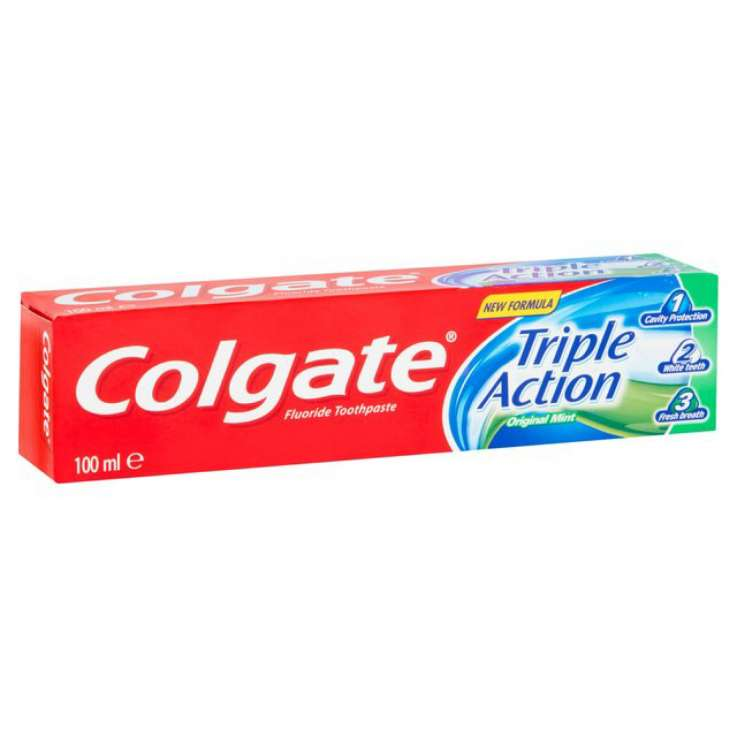 Colgate toothpaste 100ml - triple action