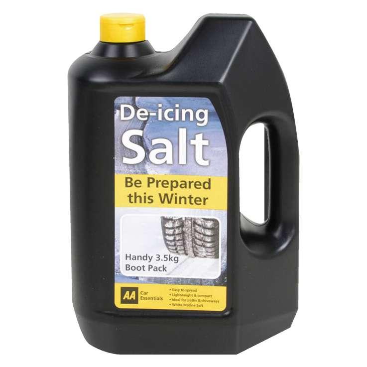De-icing salt 3.5kg (AA normally £7.99)