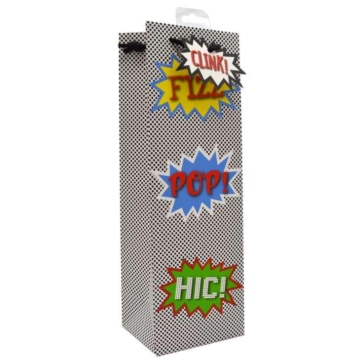 Bottle Gift Bags - Fizz Pop Hic!