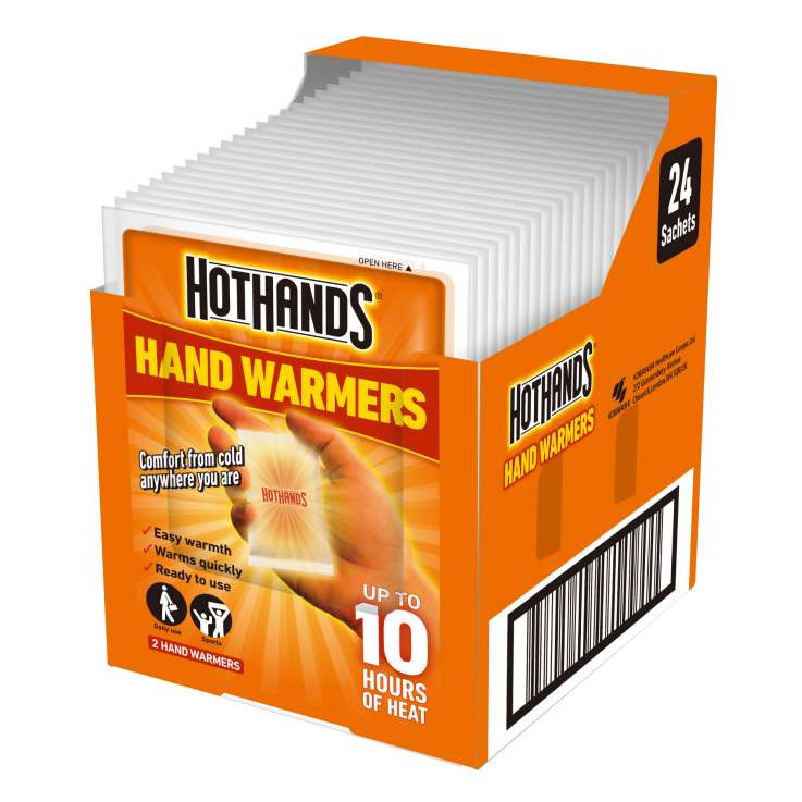 Hot hands hand warmers 2PK - In Display