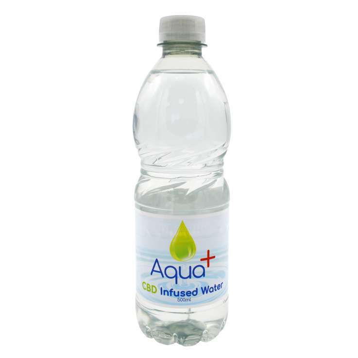 Aqua+ CBD Infused Water 500ml