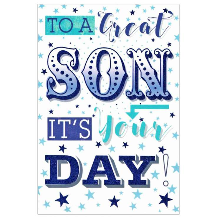 Everyday Greeting Cards Code 50 - Son