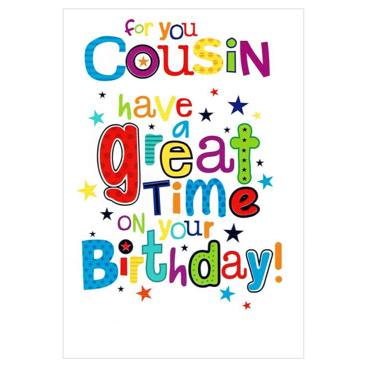 Everyday Greeting Cards Code 50 - Cousin