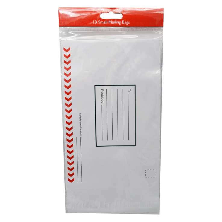 Small mailing bags 10PK - 158 x 243mm