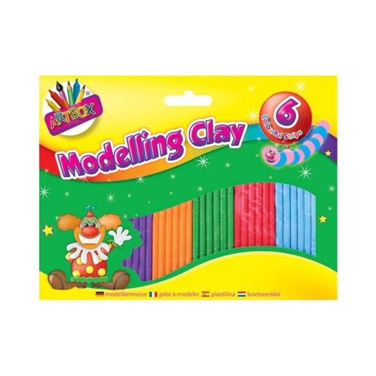 Modelling clay small (6 strips)