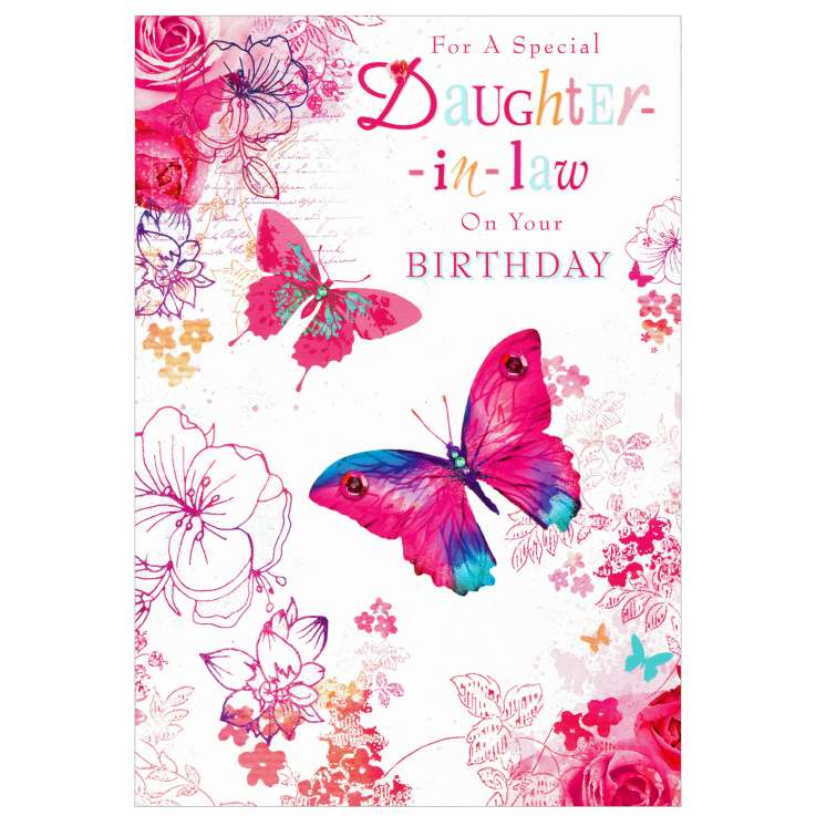 Everyday Greeting Cards Code 50 - Daughter in Law