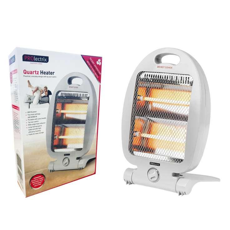 Prolectrix 800W quartz heater