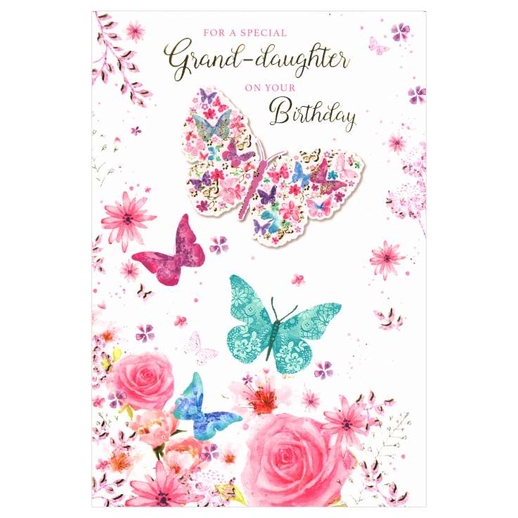 Everyday Greeting Cards Code 50 - Grand daughter