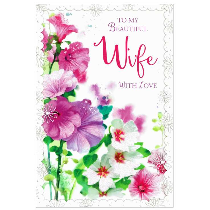 Everyday Greeting Cards Code 50 - Wife