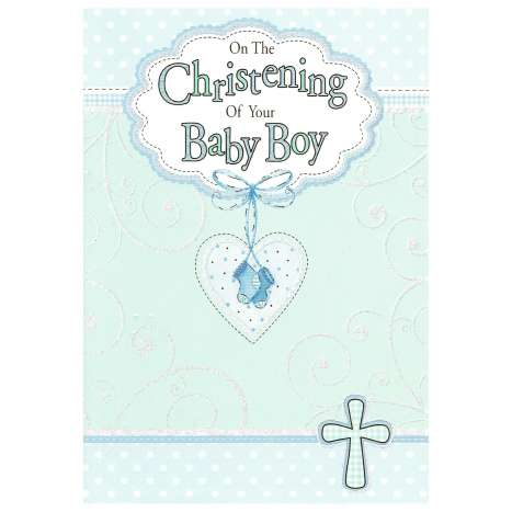 Everyday cards code 75 - Christening (M)