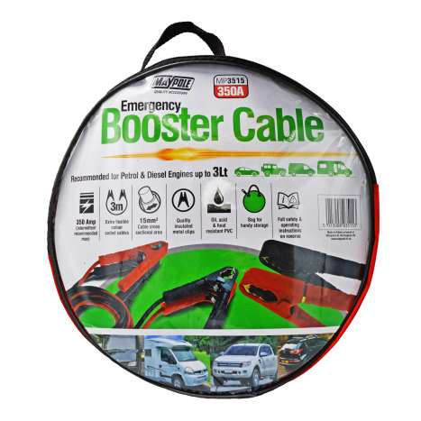 Emergency Booster Cable - 350 Amp