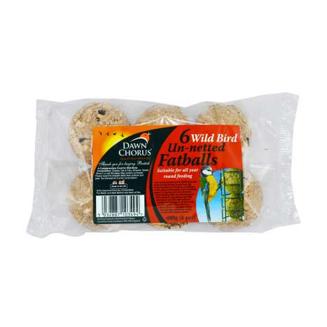 Wild Bird Un-netted Fatballs 6 Pack