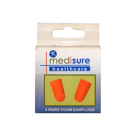 Medisure foam earplugs 4 pairs