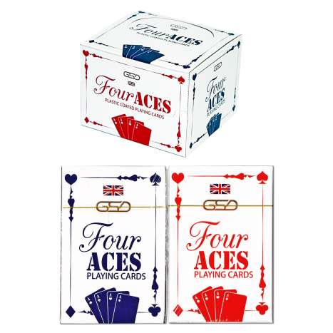 GSD Four Aces Playing Cards