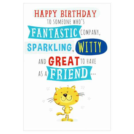 Everyday Greeting Cards Code 50 - Birthday Humour