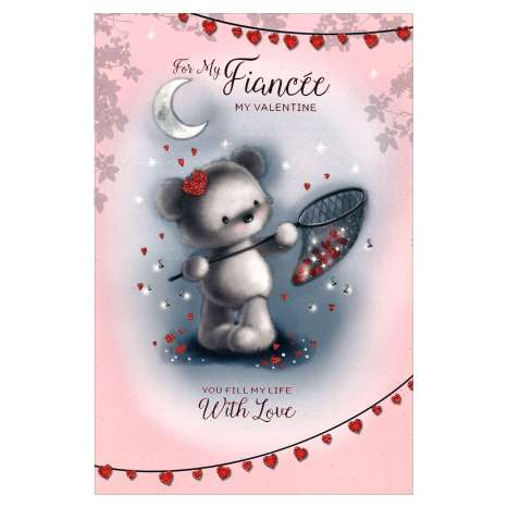 Valentines Day Cards Code 75 - Fiancee