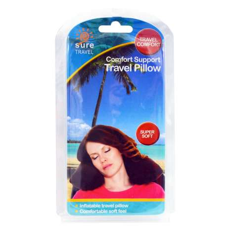 Sure Travel Inflatable Travel Pillow