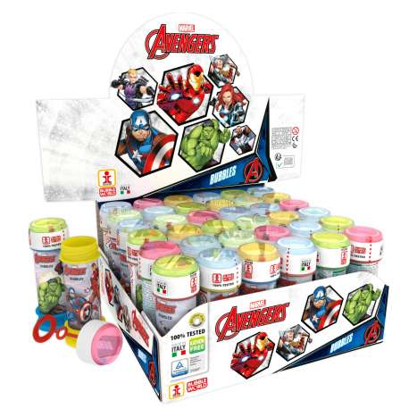 Avengers Bubble Tubs 60ml