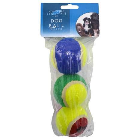 Homeware Essentials Dog Balls 3 Pack