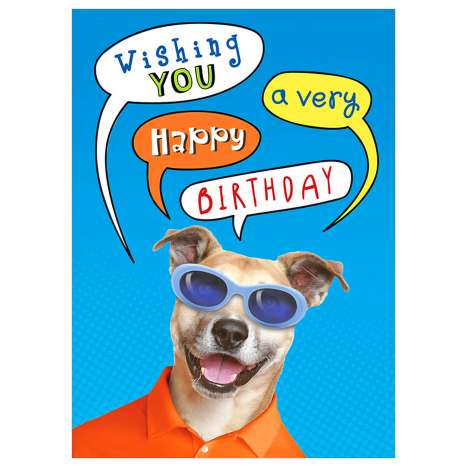 Garlanna Greeting Cards Code 50 - Humour Dog