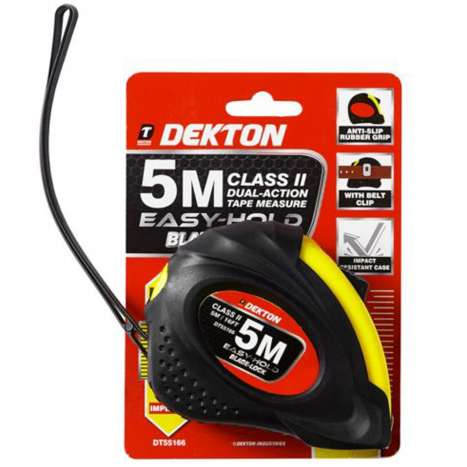 Dekton tape measure 5m