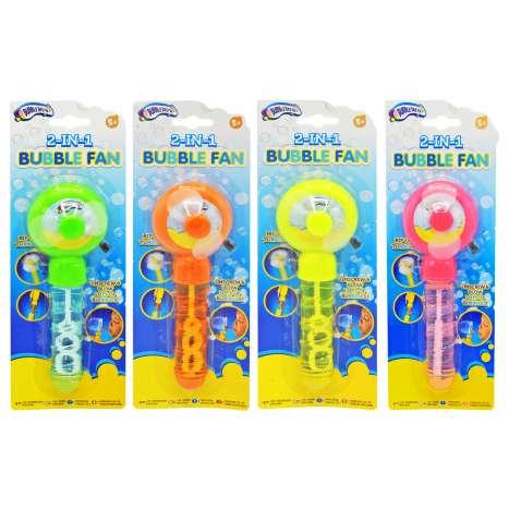 2-In-1 Bubble Fan - Assorted Colours
