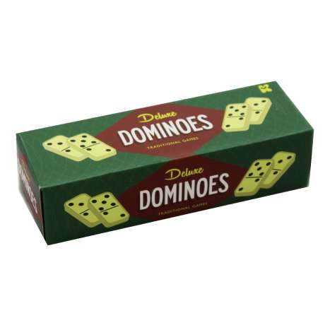 Deluxe dominoes set of 28