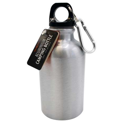 Aluminium camping bottle 300ml