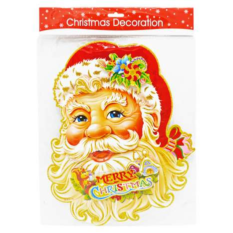 Christmas 3D Wall Decoration - Assorted Designs
