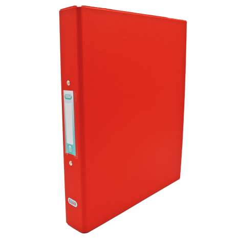 Elba A4 Ring Binder 25mm - Red
