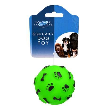Homeware Essentials Squeaky Dog Ball