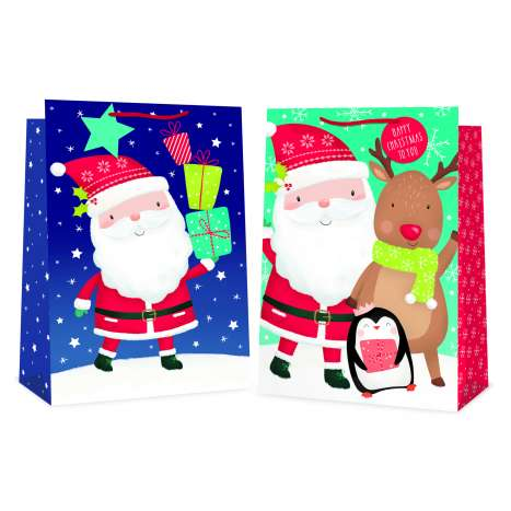 Super jumbo bag - Cute santa