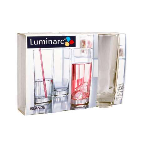 Luminarc Hi-Ball Glass 3 Pack - 330ml