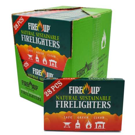 Fire Up Natural Firelighters 28 Pack