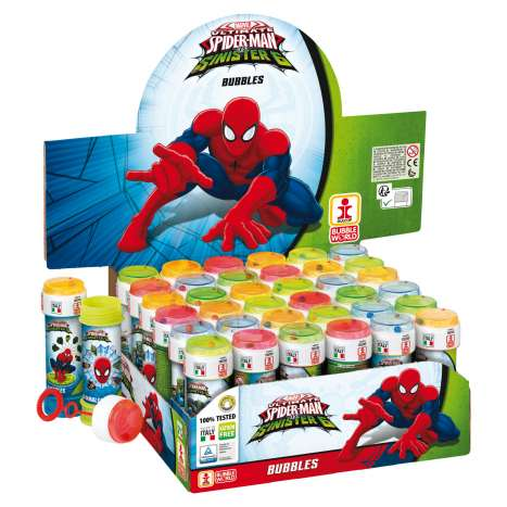 Bubble Tubs Spiderman 60ml