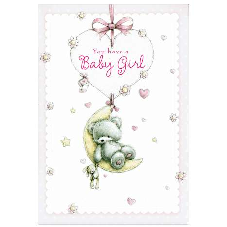 Everyday Greeting Cards Code 50 - Birth Girl