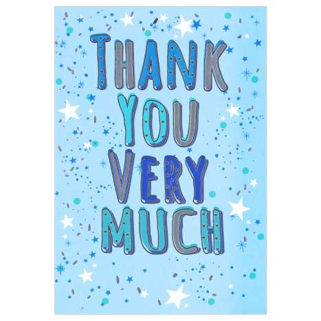 Everyday Greeting Cards Code 50 - Thank You Very Much