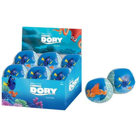 Finding dory small soft ball in display