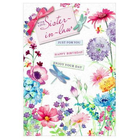 Everyday Greeting Cards Code 50 - Sister in Law