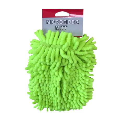 Microfibre wash mitts