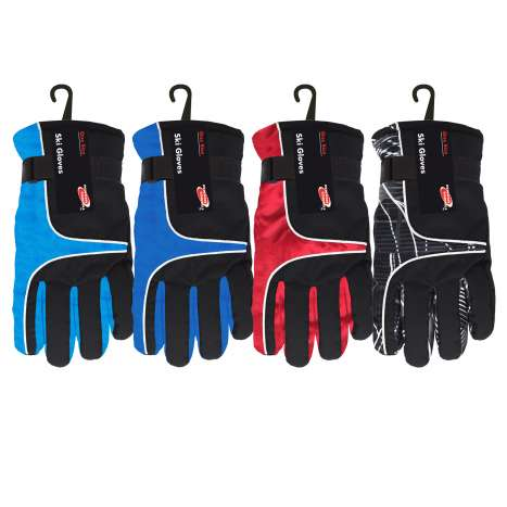 Homeware Essentials Ski Gloves - Assorted Colours